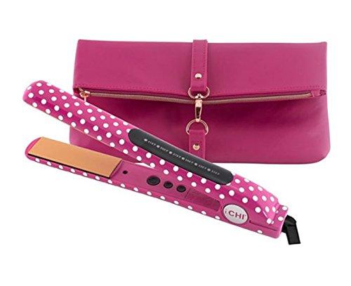 Chi Ceramic Expert Limited Edition Pink Polka Dot 1'' Flat I