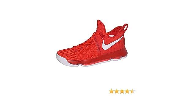 outlet store fec20 8a540 Amazon.com   Nike Zoom KD 9 Men s Basketball Sneaker (10.5 D(M) US, University  Red White)   Basketball
