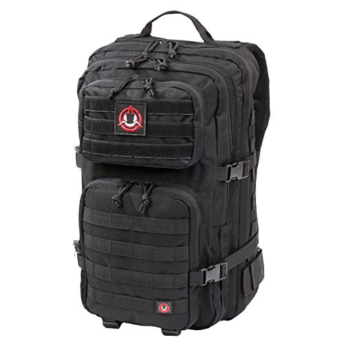 - Orca Tactical SALISH 40L MOLLE Army Military Backpack Bug Out Bag Rucksack Assault Pack (Black)