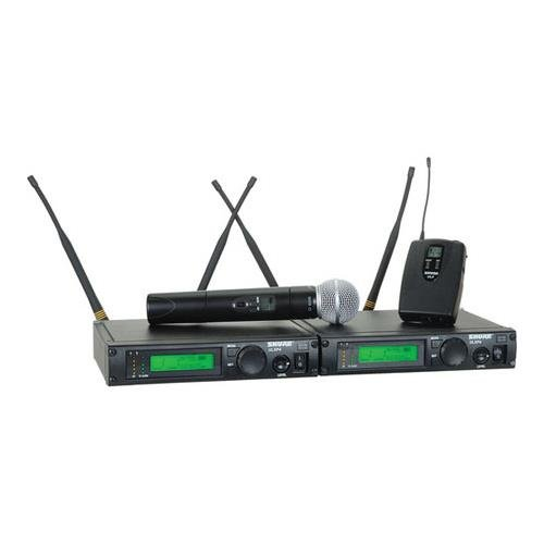 Shure ULXP124/58 Dual Channel Mixed System, M1