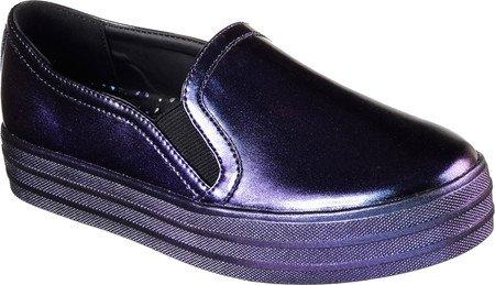 Double Slip On Purple Meteor Sneaker Skechers Flatform Up Women's XSH5Yw