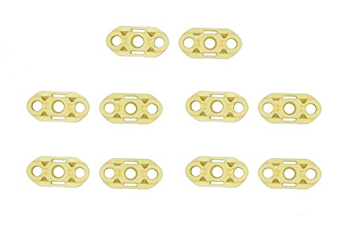 - Danci Parts Compatible replacement for Fleetwood Caprice Impala Roadmaster Custom Cruiser Electra Park Avenue - Window Regulator Repair Guide Clips (10) - front and rear