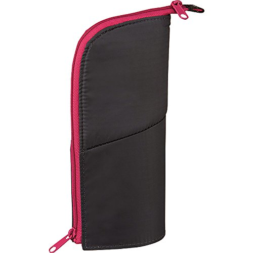 "1 X (Japan Import) Kokuyo ""NeoCritz"" Transformer Pencil Case (4.Dark gray × Pink)"