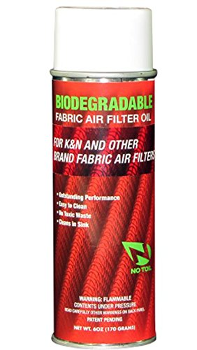 No Toil Biodegradable Fabric Air Filter Oil - 6.5oz. Can NT301