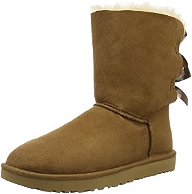 UGG Women's Bailey Bow Boots, Beige, 5 US