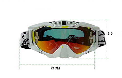 PC Parabrisas e Polvo Ciclismo explosiones Impermeable Gafas de Material Prueba I de Todoterreno a Prueba A84FxnqU