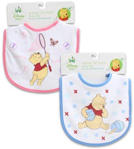 Disney Winnie The Pooh Baby Bib - Assorted 144 pcs sku# 1892756MA