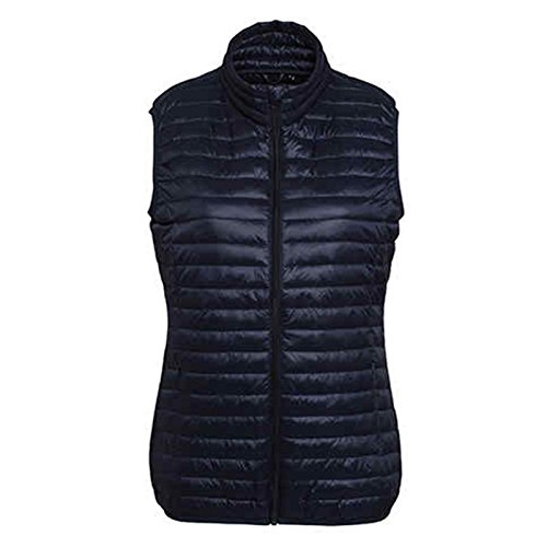 Women's Through Zip Style Tribe 2786 Fineline Gilet Padded Navy Full rpSqT4xrw