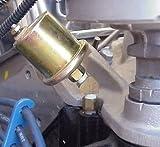 SBC 350 OIL PRESSURE GAUGE SENDING UNIT FITTINGS / ADAPTERS TO CLEAR DISTRIBUTOR