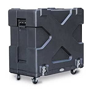 skb fits 2x12 guitar amp cabinets doubles as amp stand heavy duty casters musical. Black Bedroom Furniture Sets. Home Design Ideas