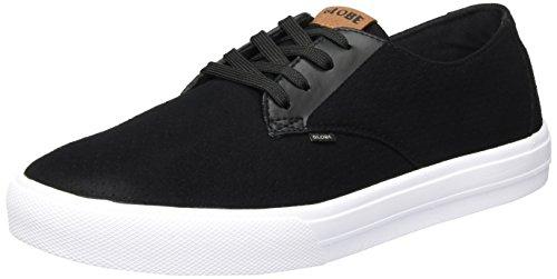 Schwarz Sneaker Motley Perf Uomo White Black LYT Globe AqfRIq