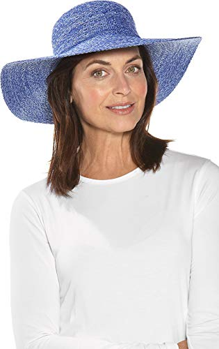 Coolibar UPF 50+ Women's Packable Wide Brim Hat - Sun Protective