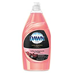 Dawn 91708CT Ultra Hand Renewal Dishwashing Liquid With Olay,Pomegranate Splash, 28oz (Case of 12)