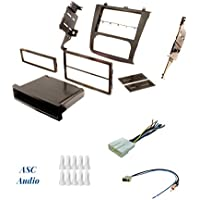 ASC Audio Car Stereo Install Dash Kit, Wire Harness, and Antenna Adapter for installing a Double Din Aftermarket Radio for some Nissan Altima w/Digital AC Control - Compatible Vehicles Listed Below