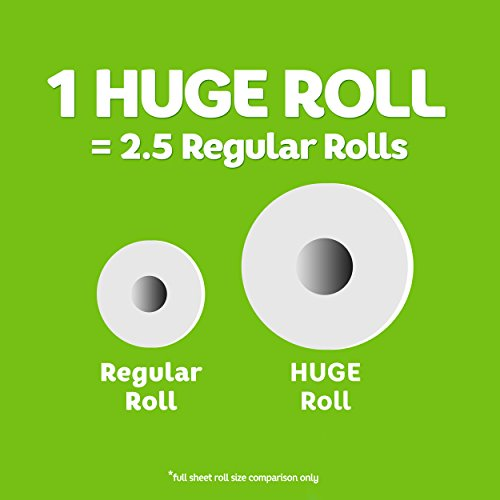 Large Product Image of Bounty Select-a-Size Paper Towels, White, Huge Roll, 8 Count