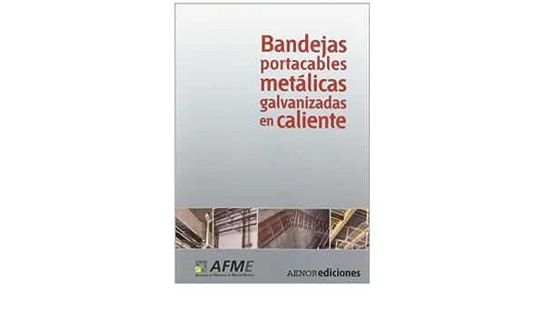 Bandejas portacables met licas galvanizadas en caliente: 9788481435580: Amazon.com: Books