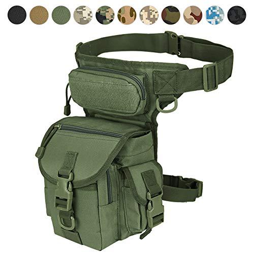 Military Tactical Drop Leg Bag Tool Fanny Thigh Pack Leg Rig