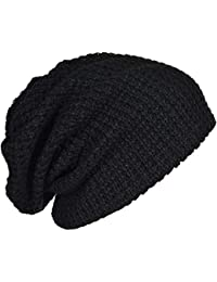 3fa8751bd4528 Mens Slouchy Long Oversized Beanie Knit Cap for Summer Winter B08