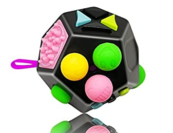 Fun Toys For Teenagers : Amazon.com: tiyeebuy fidget cube 12 sides stress and anxiety relief