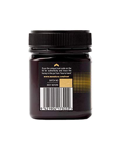 Manukora UMF 15+/MGO 500+ Raw Mānuka Honey (250g/8.8oz) Authentic Non-GMO New Zealand Honey, UMF & MGO Certified, Traceable from Hive to Hand by Manukora (Image #4)