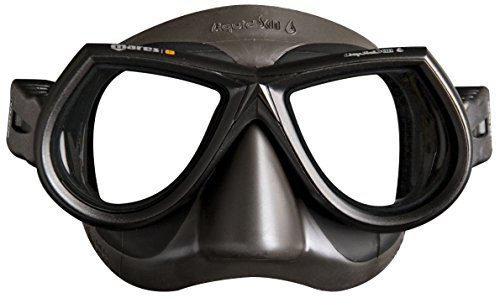 Mares Star Liquid Skin Spearfishing Mask, Black