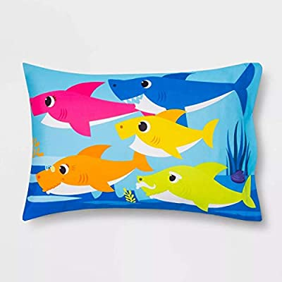 Baby Shark Close Up Pillowcase: Home & Kitchen