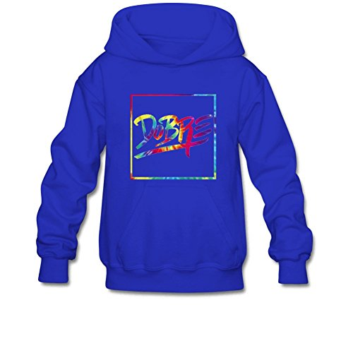 Aliensee Youth Colorful Dobre Brothers Hoodie Sweatshirt Suitable for 10-15yr Old L Royal (Brother Hoodie)