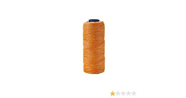 Pack of 4 Glo Orange Braided 1 lb Mutual Industries 14662-145-1000 Nylon Mason Twine 18 x 1000 18 x 1000/' Mutual inc.