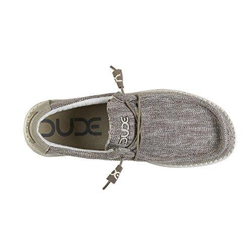 Hey Dude Herren Wally Woven Schuhe Grau