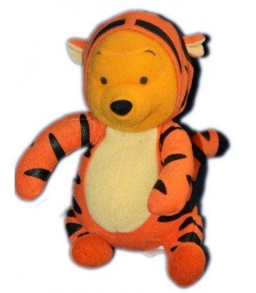 Pooh as Tigger Collector peluche Doudou Winnie the Pooh disfrazado de tigre Tigger 19 cm Disney Jemini: Amazon.es: Bebé