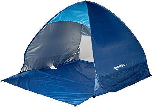 - AmazonBasics Pop-up Beach Tent
