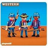 Playmobil 6274 - 3 nouveaux soldats nordistes (vendu en sachet)