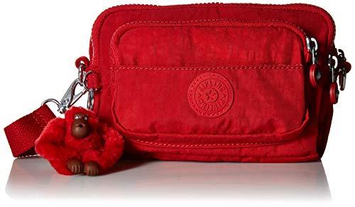 Kipling Merryl 2-in-1 Convertible Waistpack, Cherry Tonal