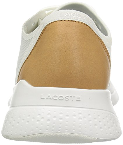 Lacoste Kvinners Lt Passe 118 2 Spw Joggesko Off White / Off White