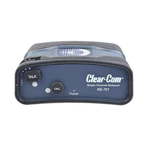 Clear-Com RS-701 | Single Channel Intercom Wired Beltpack by Clear-Com (Image #4)