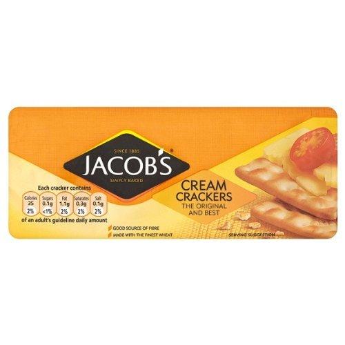 Jacob's Cream Crackers 24X200G by Jacob's