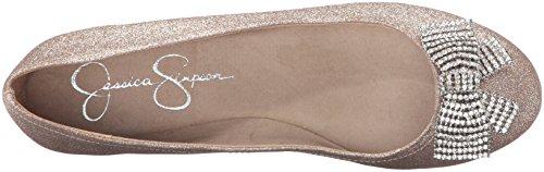 Jessica Simpson Kvinners Mackson Ballett Flat Moet