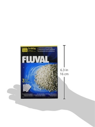 Hagen 6-Pack Fluval Ammonia Remover for Aquarium