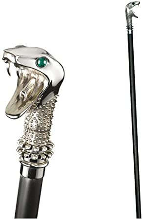 HARRY POTTER Lucius Malfoy's Walking Stick and Wand (Accesorio de Disfraz)