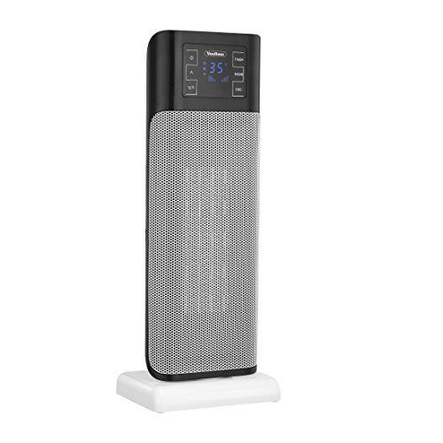 VonHaus Oscillating PTC Tower Heater Fan with Remote Control