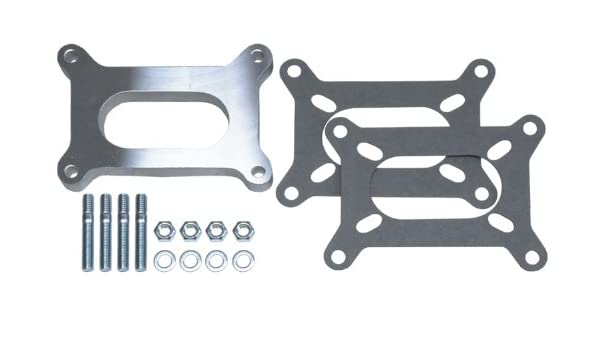 Trans Dapt 2084 Carb Spacer 1  Holley Carb Spacer Open