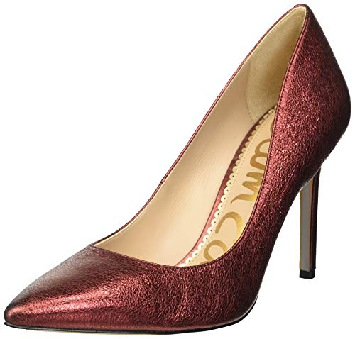 (Sam Edelman Women's Hazel Pump Metallic Rust 5 M US)