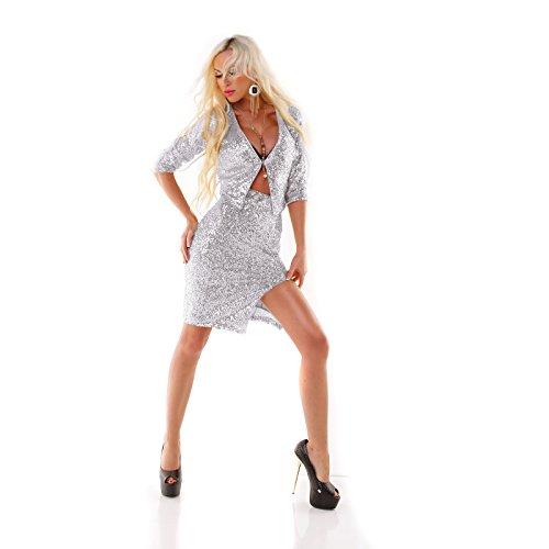 Made Italy - Chaqueta - para mujer plata
