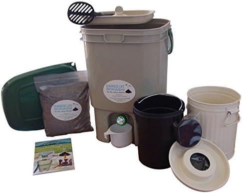 Amazon.com: Sunwood Life Bokashi Compost Kit: Jardín y ...