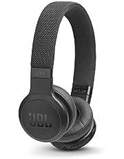 JBL LIVE 400BT – Casque audio supra-auriculaire sans fil – Écouteurs Bluetooth avec commande pour appels – avec Amazon Alexa intégré – Autonomie jusqu'à 24 heures – Noir