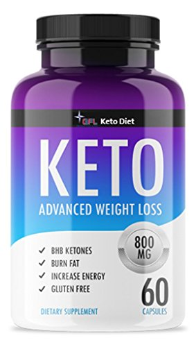 QFL Keto Trim Fast. Pure Keto Highest Potency Fast Action Diet Pills: Fat Burner, Carb Blocker + Appetite Suppressant -Made in US. (1) by QFL