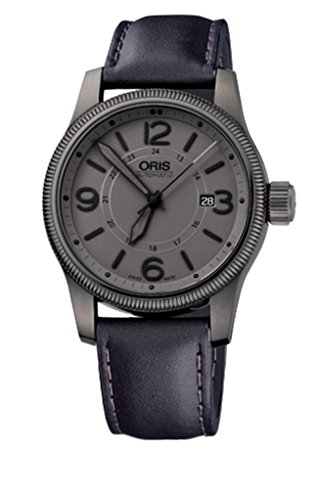 Oris Big Crown Date Mens Watch 733 7629 42 63 Ls