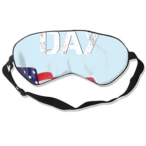 GRFER American Day Best Sleep Mask Travel, Nap, Adjustable Belt Eye Mask for Men and Women