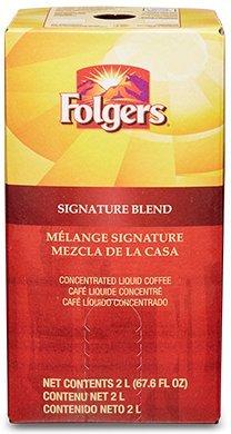 Folgers Liquid Coffee - Signature Blend 1 box/2 L