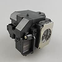 Maxii ELPLP58 / V13H010L58 replacement projector lamp with housing Fit for EPSON EX3200 EX5200 EX7200 PowerLite 1220 1260 S9 X9 S10+ VS200 EB-S10 EB-S9 EB-S92 EB-W10 EB-W9 EB-X10 EB-X9 EB-X92